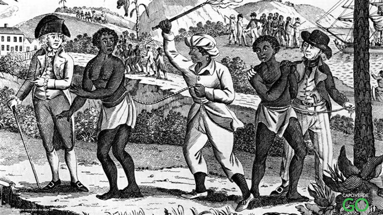 schiavi dalle isole di capo verde