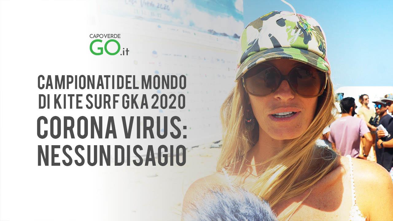 giada borghi corona virus nessun disagio a capo verde per i campionati del mondo di kite surf