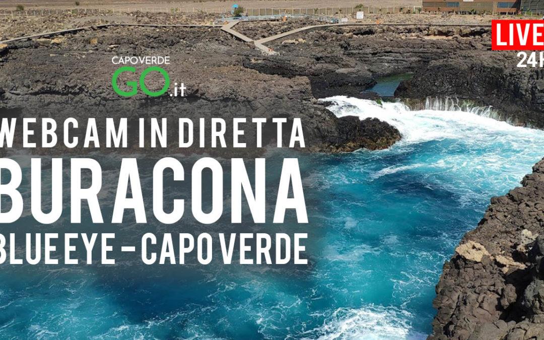 Buracona Blue Eye | WEBCAM LIVE | Isola di Sal – Capo Verde | LINK DIRETTO