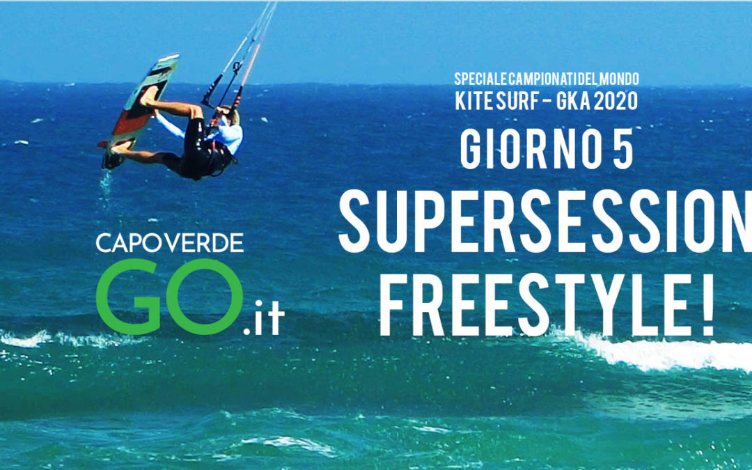 Freestyle strapless | Campionato del Mondo di Kite Surf 2020 Capo Verde | GUARDA IL VIDEO