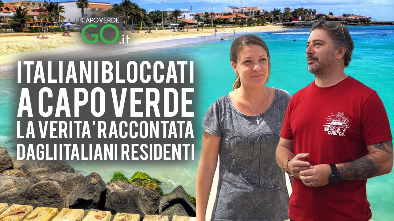 italiani bloccati a capo verde la verità dei residenti