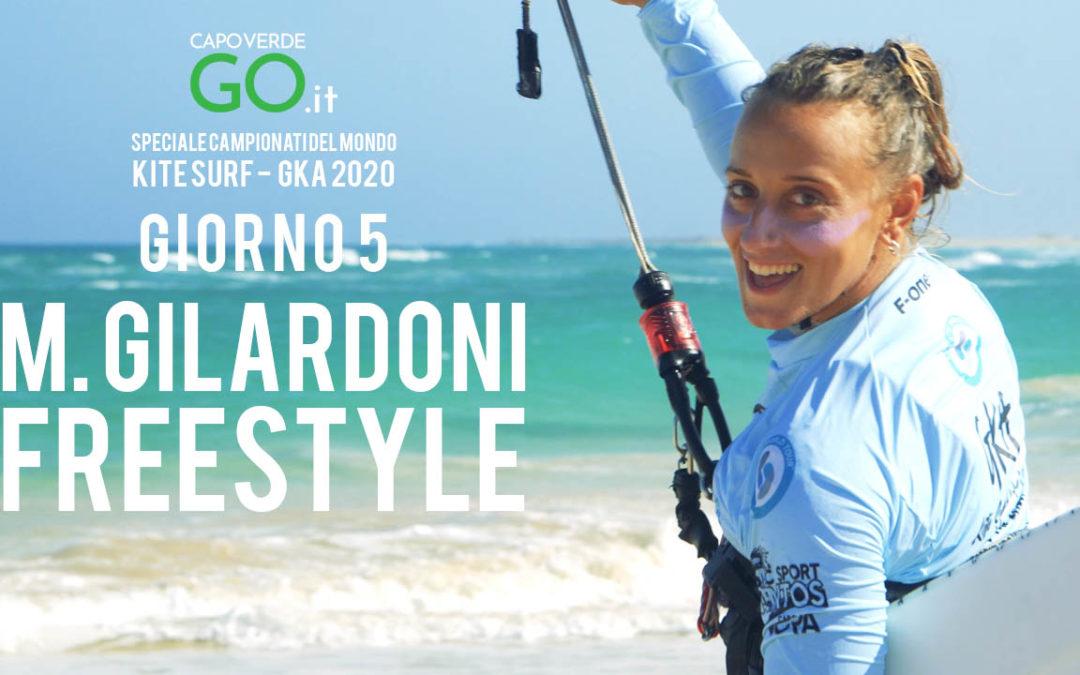 L'italiana Monica Gilardoni al 4° posto nella gara freestyle del Campionato del Mondo di Kite Surf a Capo Verde   GUARDA IL VIDEO!