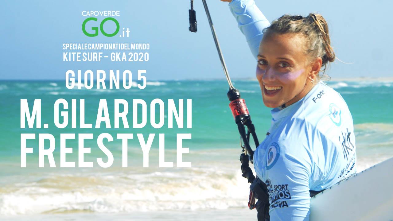monica gilardoni quarto posto freestyle strapless gka 2020 capo verde