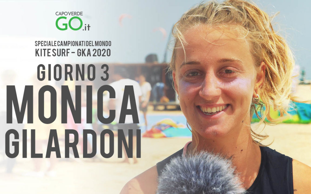 MONICA GILARDONI | unica donna italiana al Campionato del mondo di Kite Surf a Capo Verde | GKA 2020 | GUARDA IL VIDEO