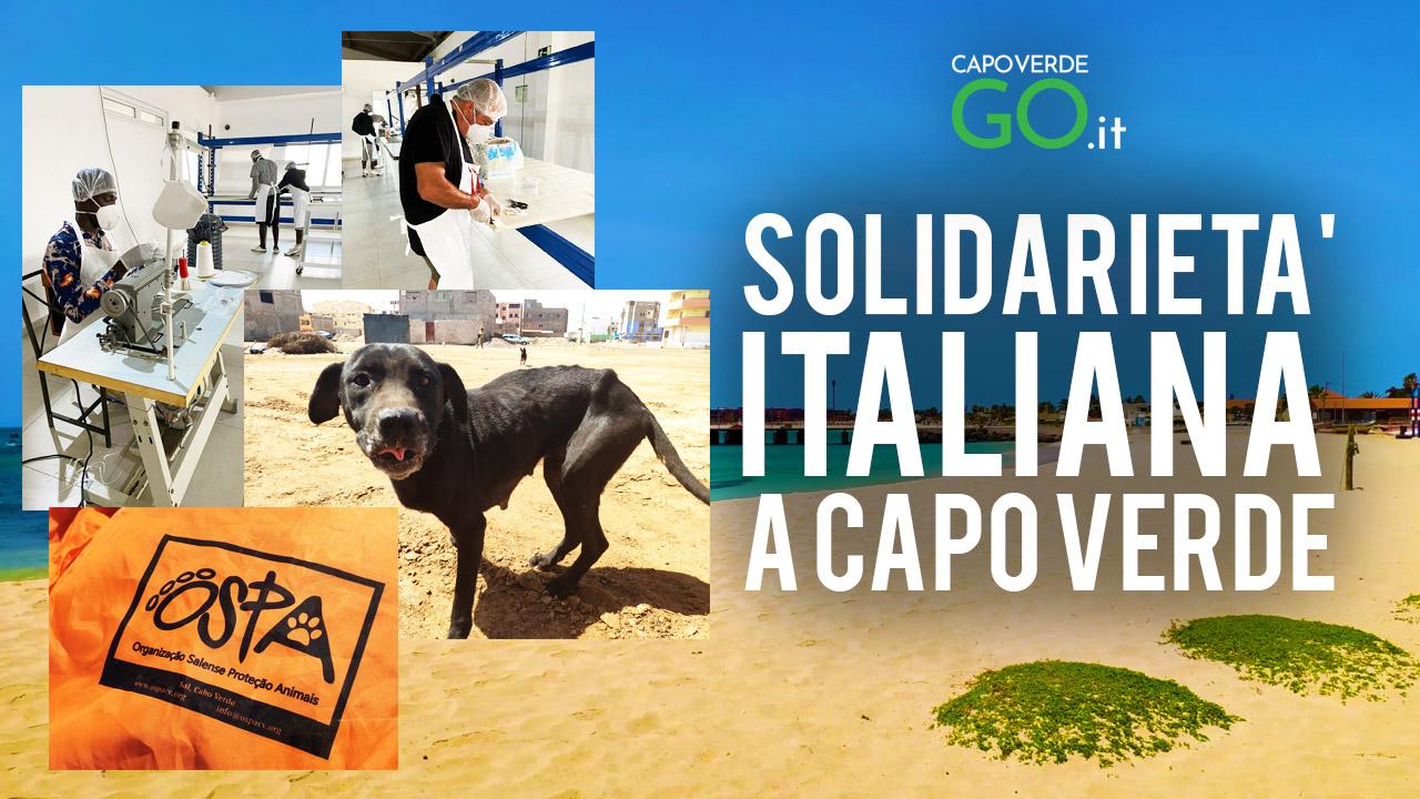 solidarietà italiana a capo verde