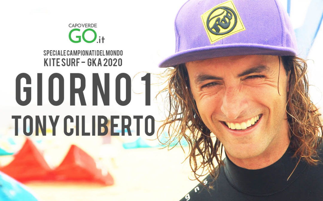 Intervista a TONY CILIBERTO | Campionato del mondo di Kite Surf – Capo Verde – Giorno 1 | GUARDA IL VIDEO