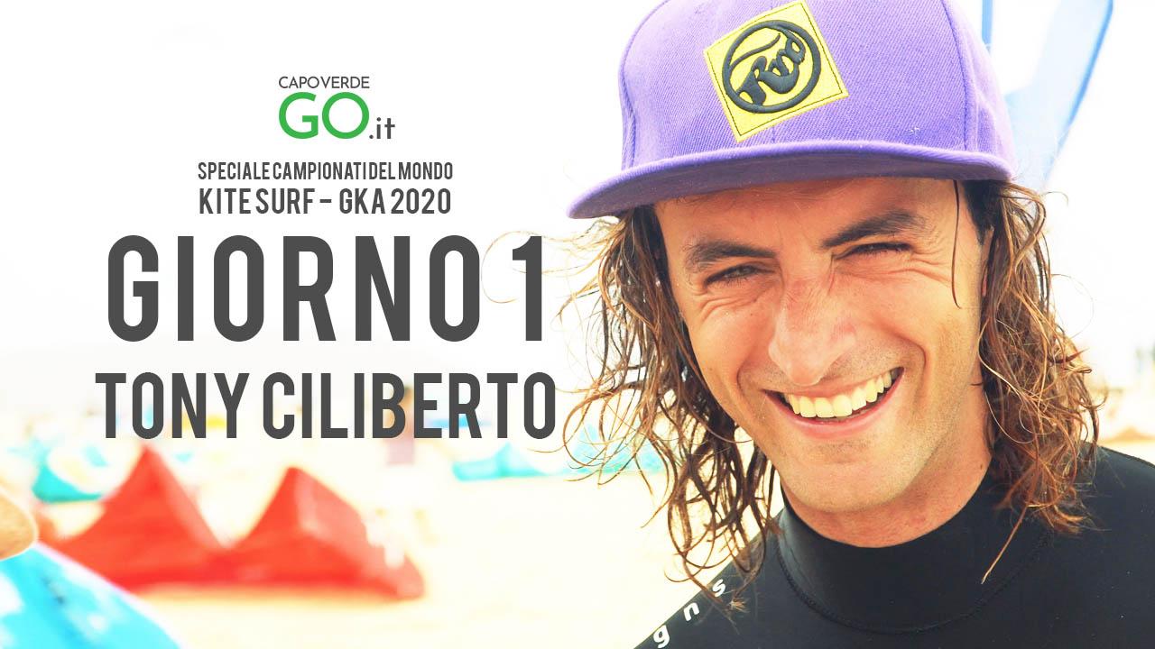 gka 2020 - tony ciliberto - giorno 1