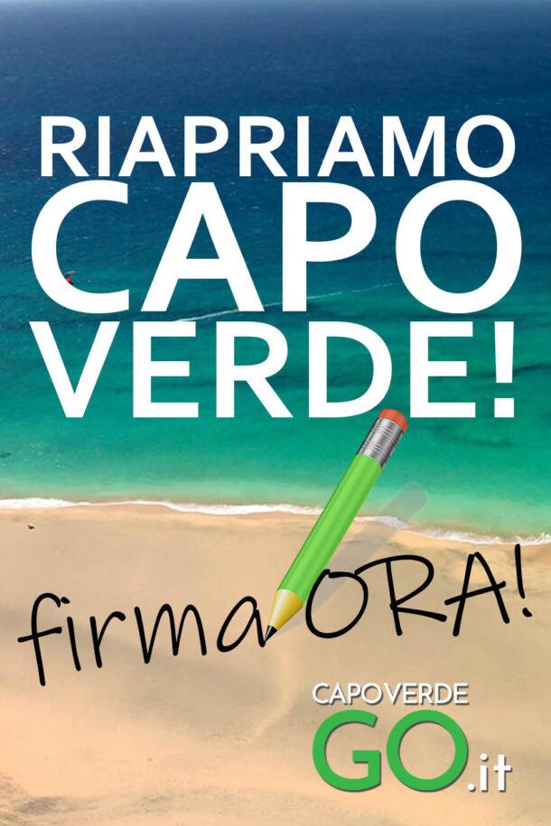 Raccolta firme Capo Verde