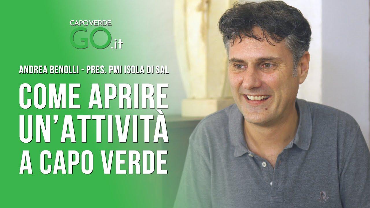 Andrea Benolli presidente piccole e medie imprese isola di sal